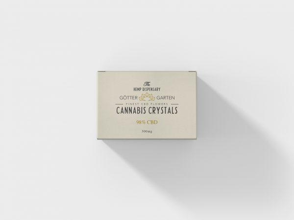 Göttergarten Cannabis Crystals Pure CBD