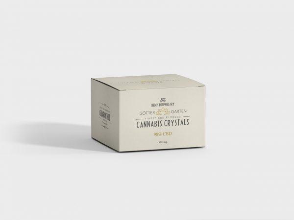 Göttergarten Cannabis Crystals 98% CBD