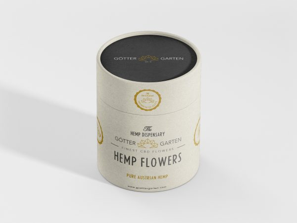 Göttergarten Hanfblüten Papertube Hemp Flowers CBD Cannabis Sativa